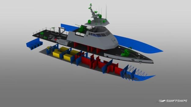 Swiftships USA 45M Fast Patrol Boat (FPB)