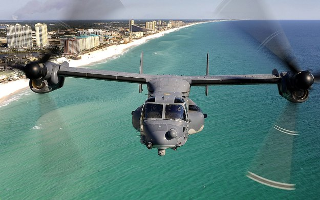 A CV-22 of 8th Special Operations Squadron