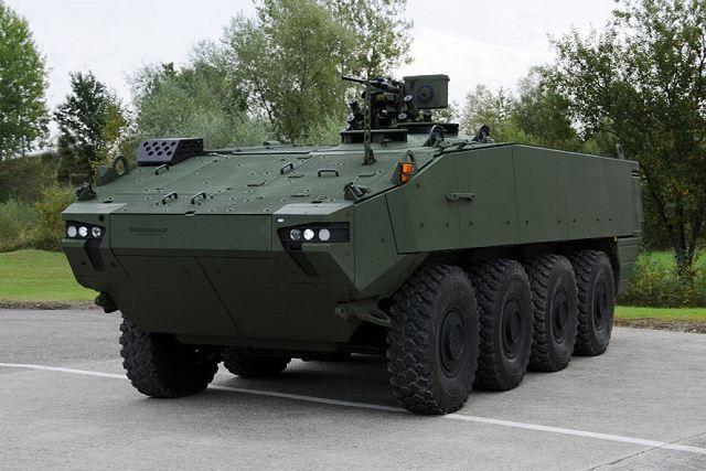 VCR Piranha 5 8x8 Combat armoured vehicle