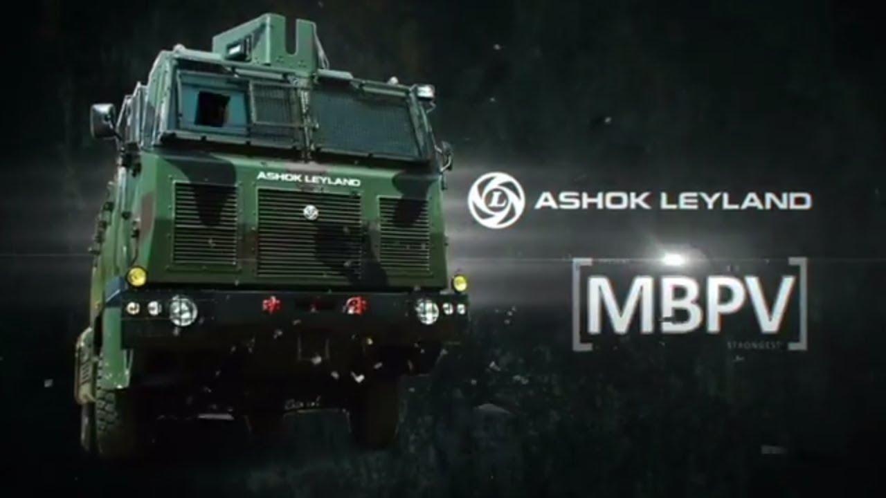 Ashok Leyland Medium Bullet Proof Vehicle (MBPV)
