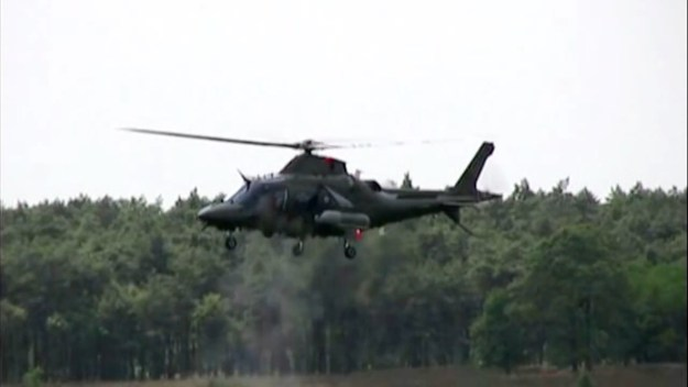 AW109M military multi-role helicopter