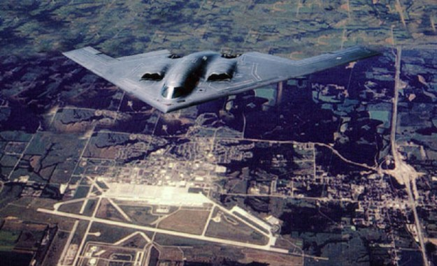B-2 Over Whiteman Whiteman Air Force Base