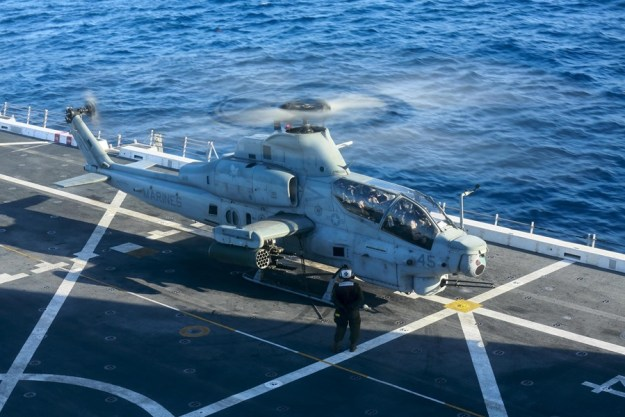 Bell wins $439 million contract from US Navy for 25 AH-1Z Viper