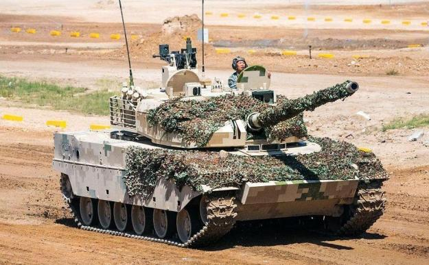 China People's Liberation Army accepts new Type-15 light tank