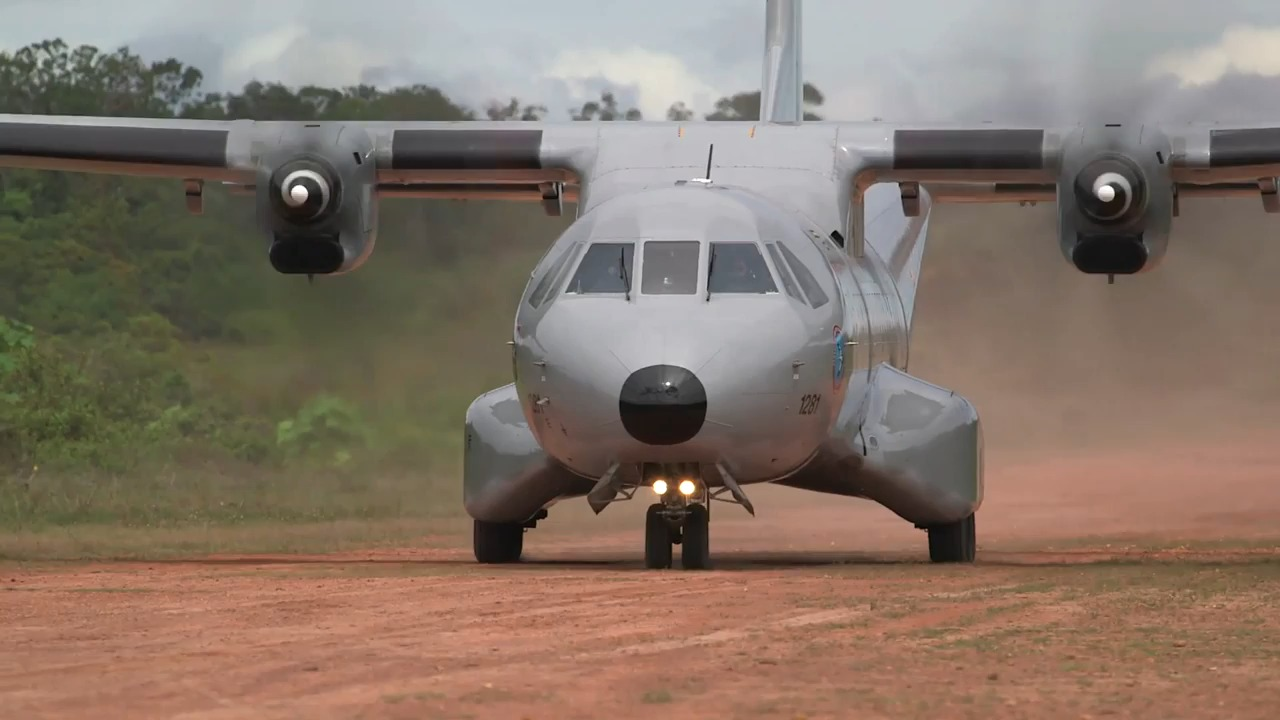 Colombian Air Force C-295 transport aircraft