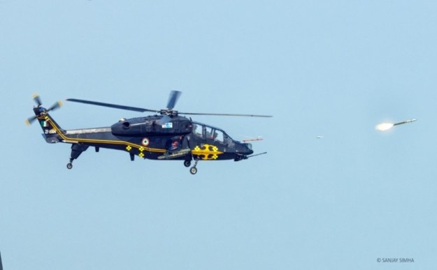 India's HAL Light Combat Helicopter (LCH) completes weapon trials