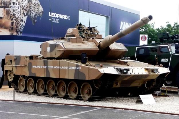 Leopard 2A7+ main battle tank