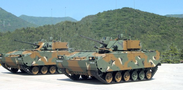 Hanwha Defense K21 Infantry Fighting Vehicle