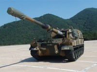 Hanwha Defense K9A1  self-propelled howitzer