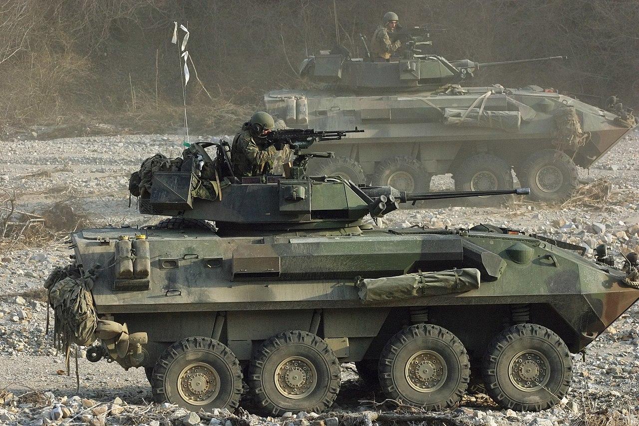 U.S. Marine Corps Light Armored Vehicle (LAV)
