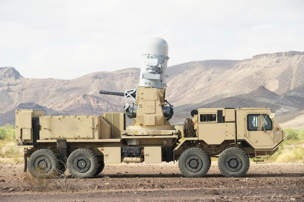 Raytheon land-based Phalanx system