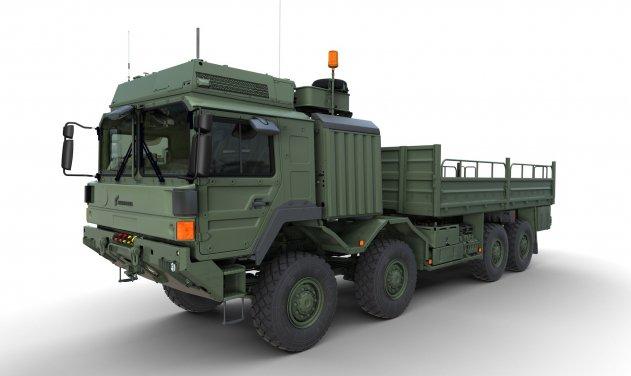 Rheinmetall MAN Military Vehicles (RMMV) HX 8x8 heavy truck