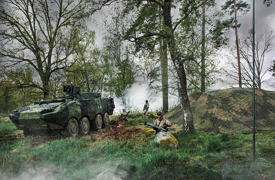 Royal Danish Army Orders Barracuda Camouflage from Saab
