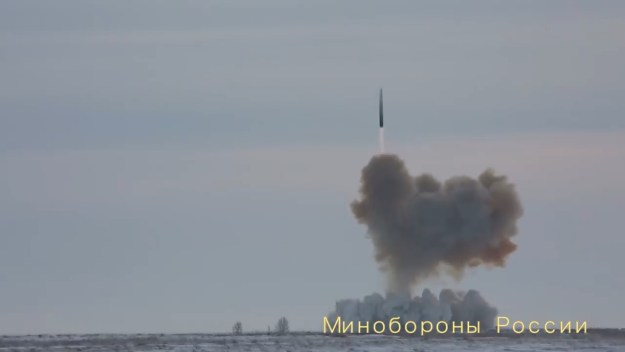 Russia announces successful flight test of Avangard Hypersonic Glide Vehicle