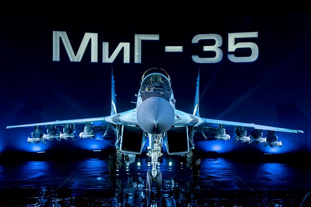 Russian Aerospace Forces to Get Four Mig-35 4++ Generation Jet Fighters This Year