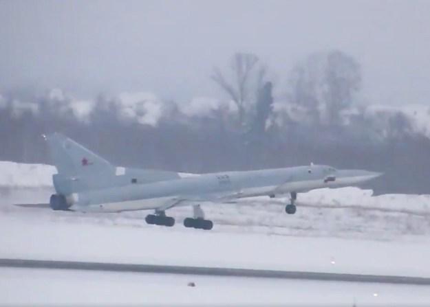 Russia's Upgraded Tupolev Tu-22M3M Bomber Makes Maiden Flight