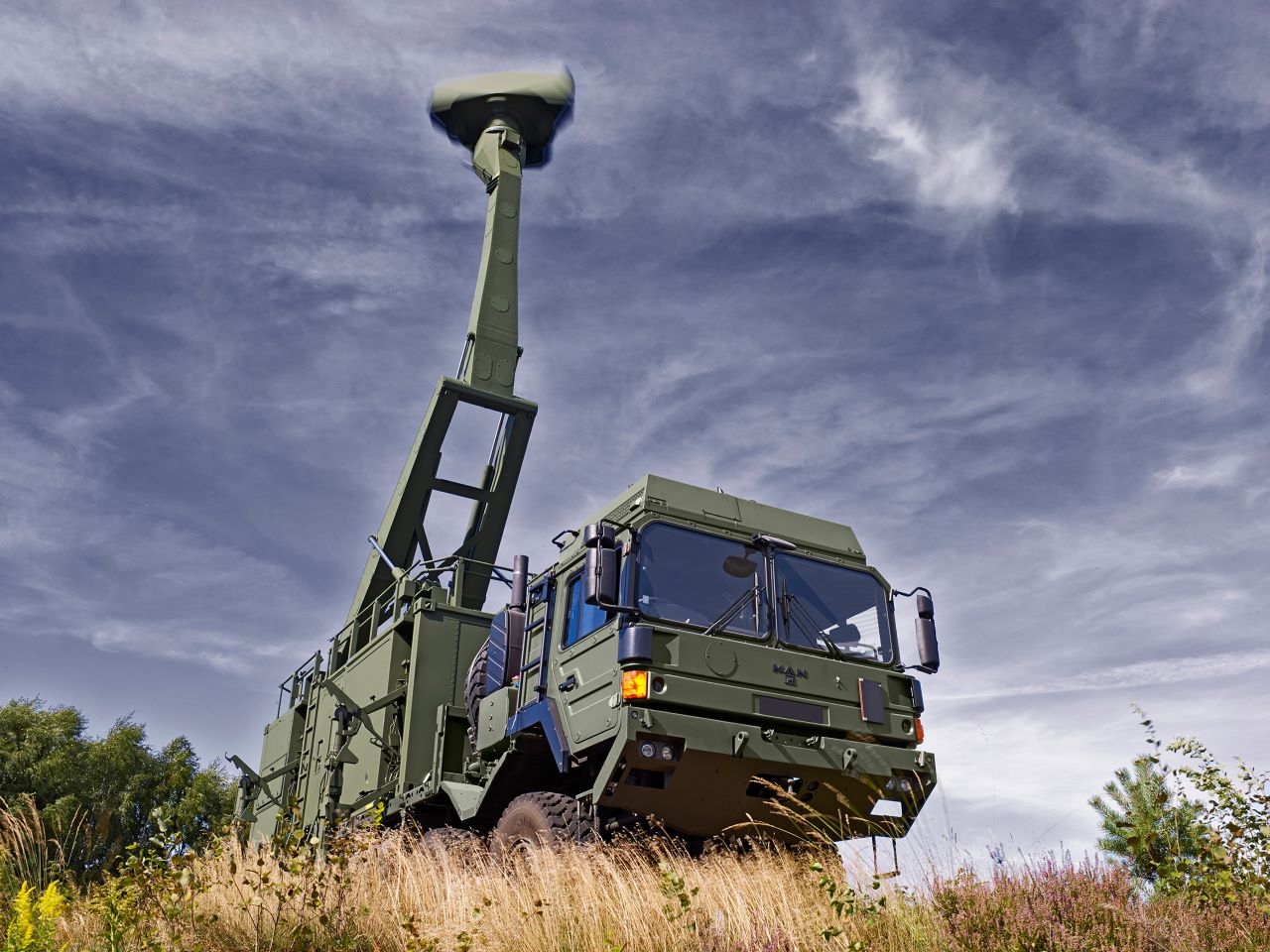 Saab Giraffe AMB (Agile Multi Beam) radar systems