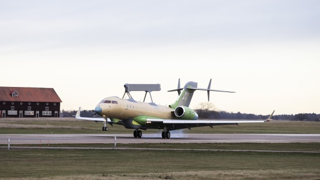 Second Saab GlobalEye completes maiden flight