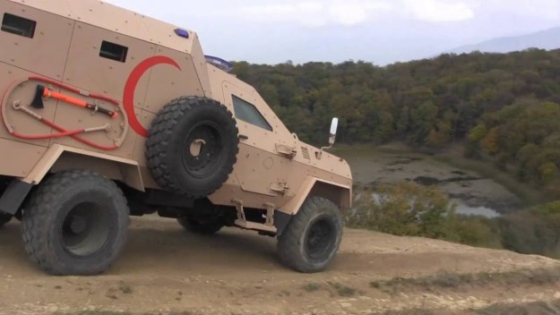 STC Delta Didgori Armoured Medical Evacuation Vehicle (AMEV)