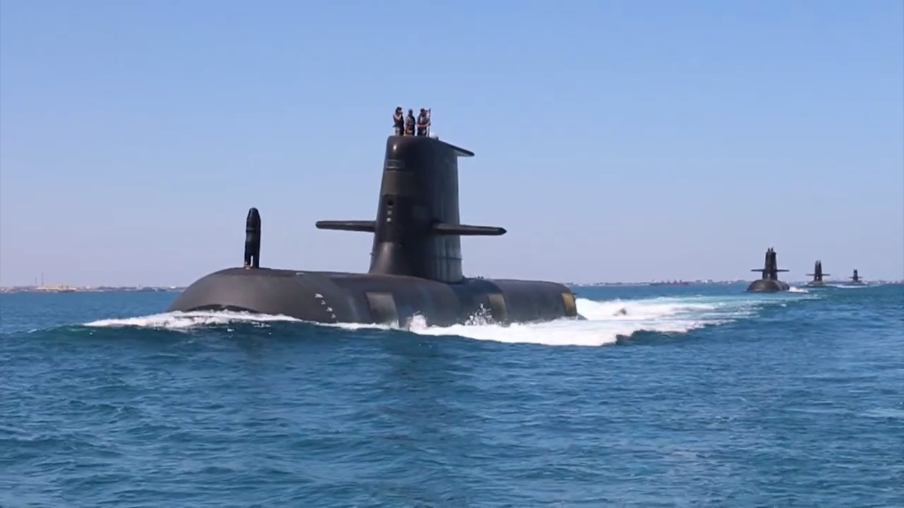 Royal Australian Navy Collins-class submarine