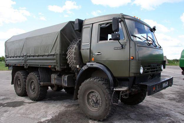 KamAZ-6350 6x6 military truck