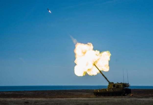 Nammo HE-ER 155 mm artillery ammunition