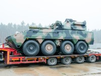 Rosomak-Rak 120mm Self-Propelled Mortar System