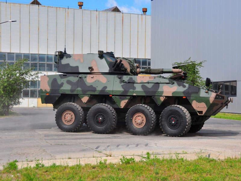 Rosomak-Rak 120mm Self-Propelled Mortar System