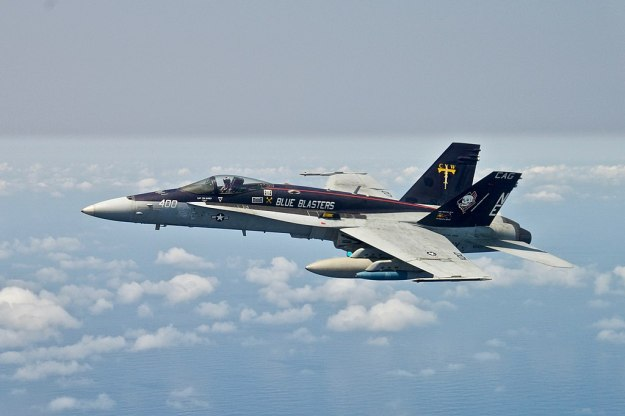 "Strike Fighter Squadron 34 ""Blue Blasters"" F/A-18C Hornet"