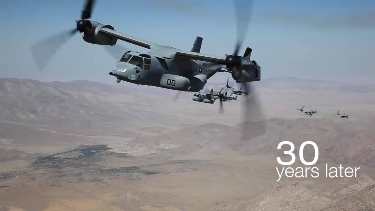 Bell Boeing V-22 Osprey Marks Three Decades of Transforming Military Aviation