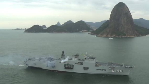 Brazilian Navy Amphibious Assault Ship Atlântico