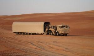 UAE to receive Belarusian MZKT-741351 heavy tank transporters