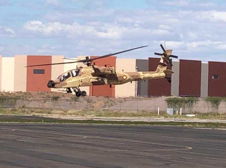 Qatar Emiri Air Force AH-64E Apache Guardian Attack Helicopters