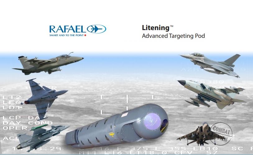 RAFAEL Litening Advanced Targeting Pod