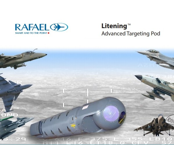 RAFAEL Litening Advanced Targeting Pod