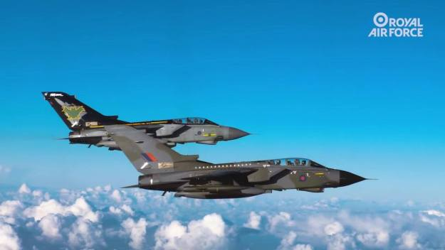 Royal Air Force commemorates iconic RAF Tornado GR4