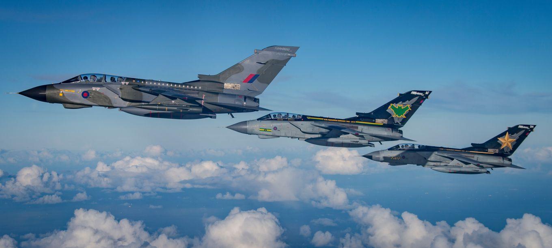 Royal Air Force commemorates iconic RAF Tornado GR4
