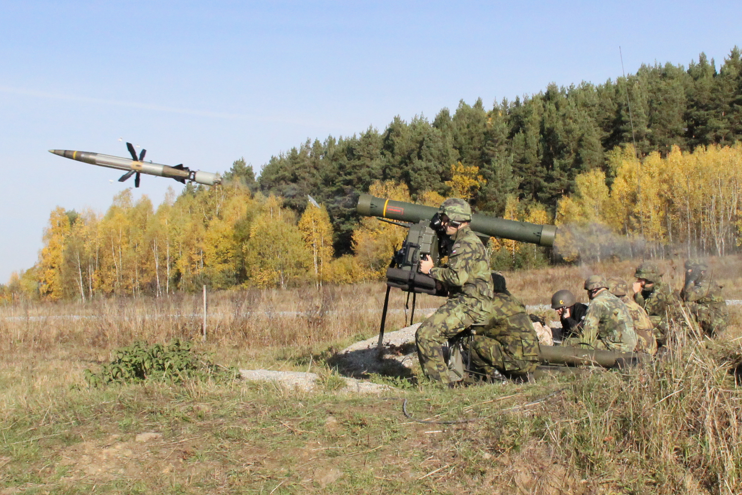 Saab to Deliver RBS 70 Mk II Missiles to the Czech Army