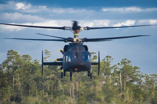 Sikorsky-Boeing SB>1 DEFIANT Helicopter Achieves First Flight
