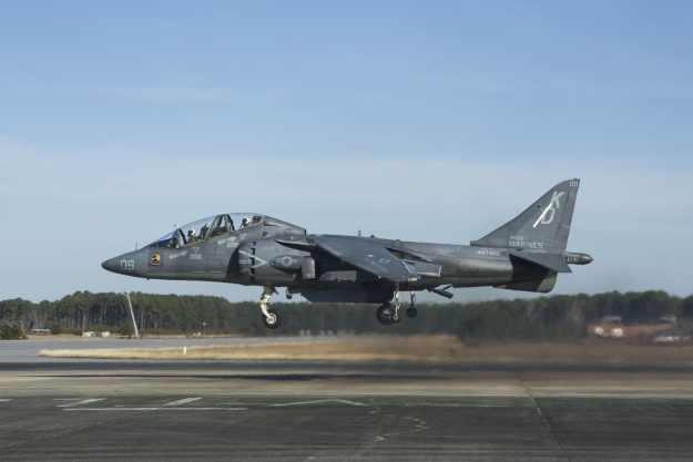 T/AV-8B Harrier II trainer