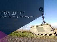 TITAN Sentry and Strike Modular Unmanned Ground Vehicle