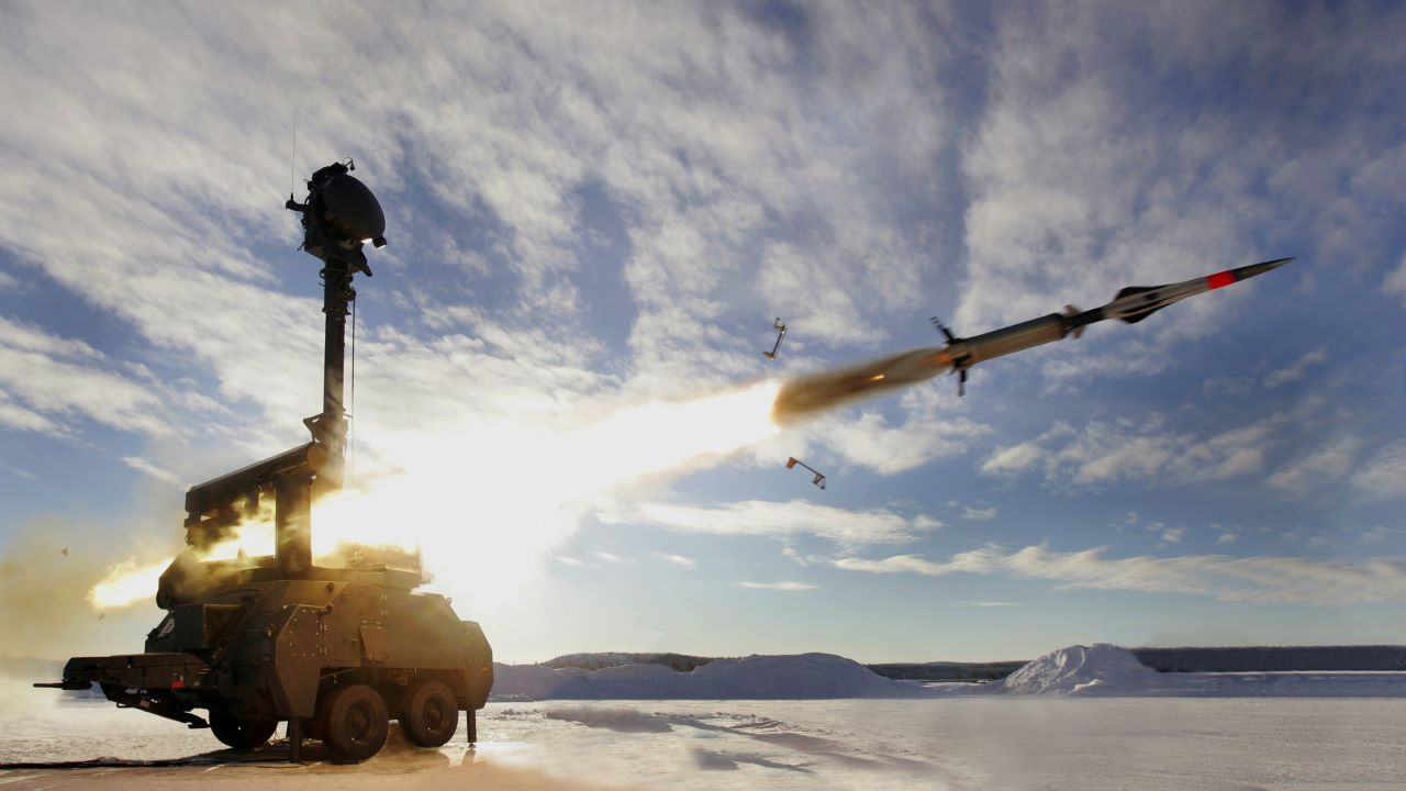 BAMSE SRSAM Ground Based Missile System