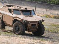Arquus Scarabée Armoured Vehicle