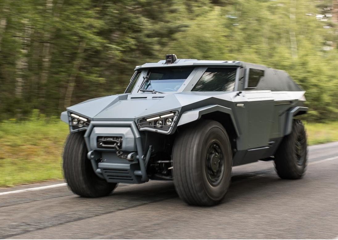 Arquus reveals new Scarabée Armoured Vehicle