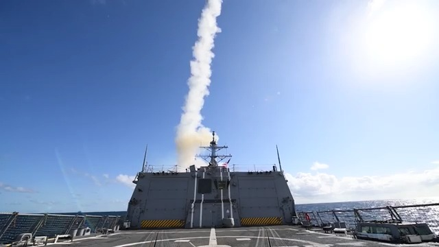 Raytheon Standard Missile-3 support complex NATO exercise
