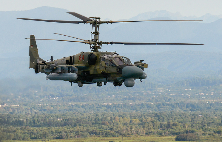 Russian Defence Ministry Upgrading Ka-52 Aligator Combat Helicopters