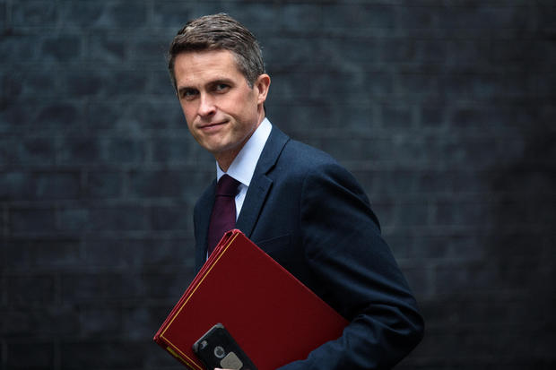 UK Defense Secretary Gavin Williamson fired over Huawei leak