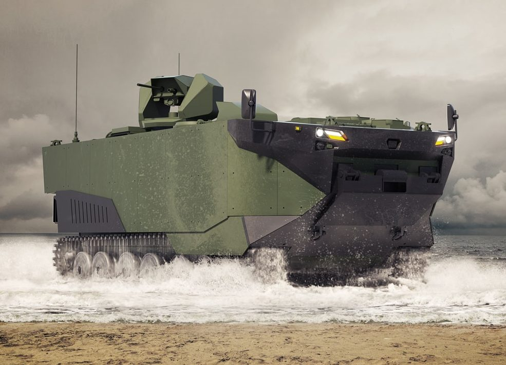 Zaha Marine Assault Vehicle (MAV)
