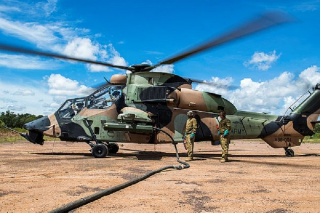 Eurocopter Tiger ARH Attack Helicopter