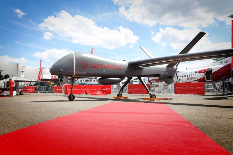 Leonardo unveils its largest-ever drone, the Falco Xplorer